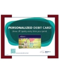 Personalized Debit Card Poster/Print